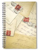French Correspondence From Ww1 #1 Spiral Notebook
