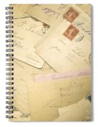 French Correspondence From Ww1 #2 Spiral Notebook