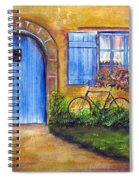 French Cottage Spiral Notebook