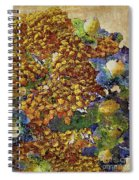 French Country Print Spiral Notebook