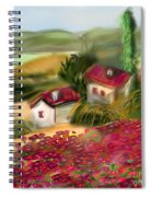 French Country Squared Spiral Notebook