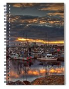 French Creek Sunrise Spiral Notebook