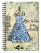 French Dress Shop-b Spiral Notebook