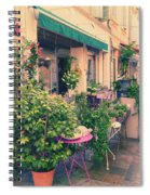 French Floral Shop Spiral Notebook