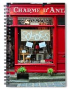 French Gift Shop Spiral Notebook