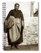 French Lady With A Very Large Bread France 1900 Spiral Notebook