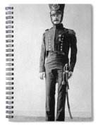 French Officer, 1814 Spiral Notebook