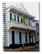French Quarter Architecture Spiral Notebook