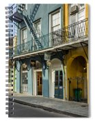 French Quarter Art And Artistry Spiral Notebook