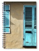 French Quarter Blues Spiral Notebook