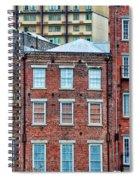 French Quarter Facades New Orleans Spiral Notebook
