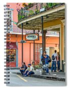 French Quarter - Hangin' Out Spiral Notebook