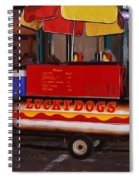 French Quarter Late At Night Spiral Notebook