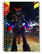French Quarter Monster Spiral Notebook
