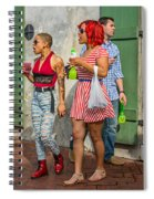 French Quarter - Party Time Spiral Notebook