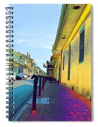 French Quarter Street Spiral Notebook