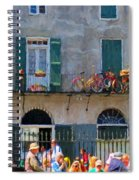 French Quarter Stroll 2 - New Orleans Spiral Notebook