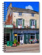 French Quarter Stroll New Orleans Spiral Notebook