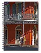 French Quarter Tete A Tete Spiral Notebook