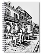 French Quarter - The Final Ride Spiral Notebook
