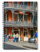 French Quarter Wandering 3 Spiral Notebook