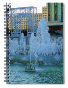 French Quarter Water Fountain Spiral Notebook