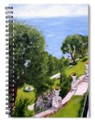 French Riviera Spiral Notebook