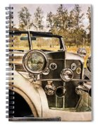French Romantic Spiral Notebook