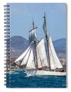 French Shooner Alicante Spiral Notebook