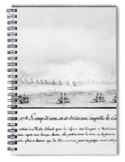 French Squadron, 1778 Spiral Notebook