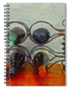 French Wine Rack Spiral Notebook