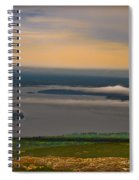 Frenchman Bay And The Porcupine Islands Spiral Notebook