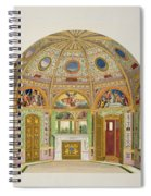 Fresco Decoration In The Summer House Spiral Notebook