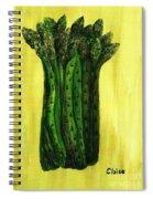 Fresh Asparagus Spiral Notebook