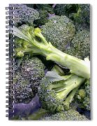 Fresh Broccoli Spiral Notebook