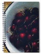 Fresh Cherries Spiral Notebook