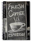 Fresh Coffee Spiral Notebook