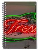 Fresh Fish Spiral Notebook