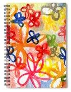 Fresh Flowers Spiral Notebook