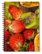 Fresh Fruit Salad Spiral Notebook