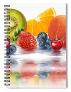 Fresh Fruits Spiral Notebook