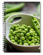 Fresh Garden Peapods Spiral Notebook