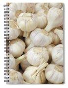 Fresh Garlic Bulbs Spiral Notebook