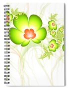 Fresh Green Spiral Notebook
