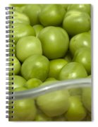 Fresh Green Peas Spiral Notebook