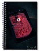 Fresh Ground Zombie Meat - Its What's For Dinner Spiral Notebook