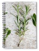 Fresh Herbs Spiral Notebook