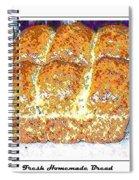 Fresh Homemade Bread 2 Spiral Notebook