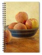 Fresh Peaches Spiral Notebook