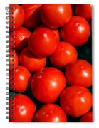 Fresh Ripe Red Tomatoes Spiral Notebook
